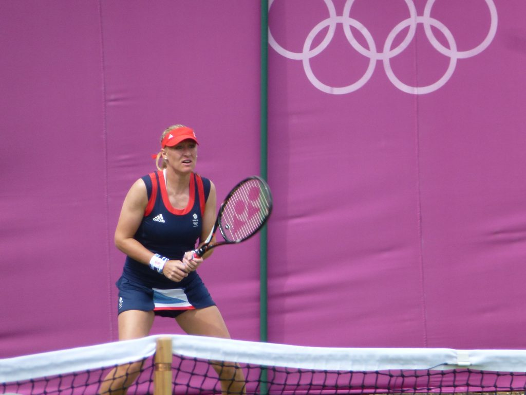 Just like the tennis player at the Rio 2016 Olypimcs, Elena Baltacha-Severino was proud to be an Olympian